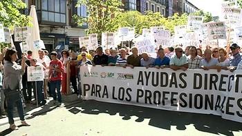Miles de personas salen a la calle en Valladolid en defensa del campo