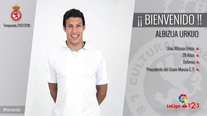 Unai Albizua, último fichaje de la CyD Leonesa. - rtvcyl.es