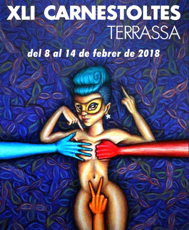 Cartel de los carnavales de Terrassa - rtvcyl.es