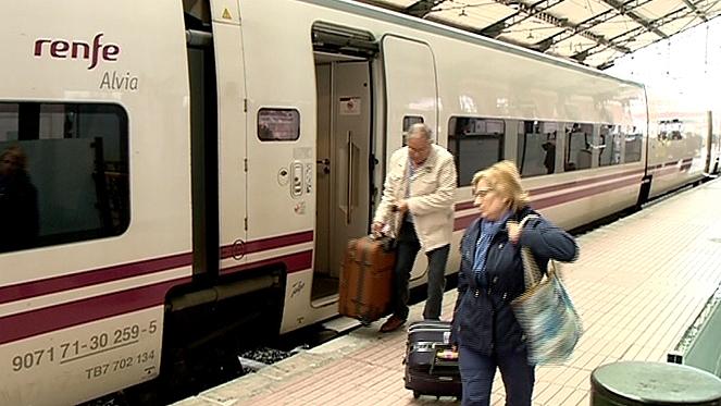 Llegada tren - rtvcyl.es