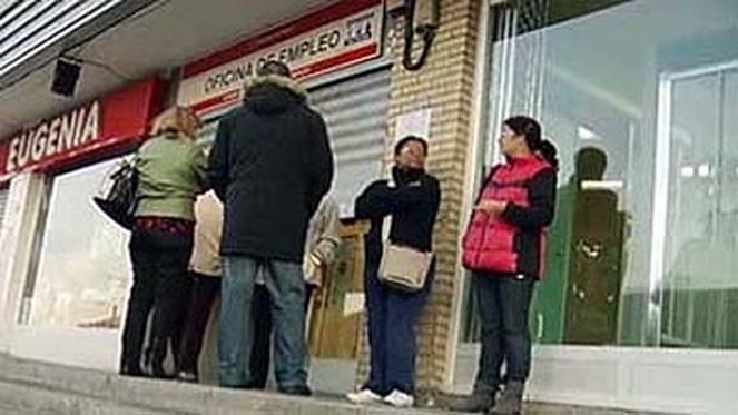 El paro baja en marzo en personas gracias al sector for Oficina inem burgos