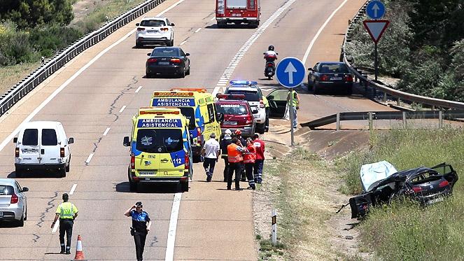 Accidente A62 - rtvcyl.es