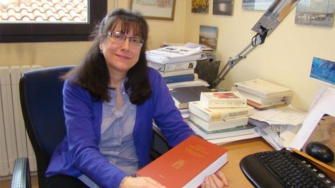 La catedrática de Filología Latina de la Universidad de Valladolid Estrella Pérez Rodríguez - rtvcyl.es