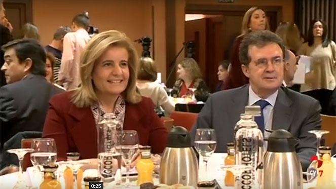 Báñez destaca el 'récord absoluto' de contratos entre personas con discapacidad