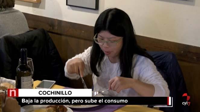 El consumo de cochinillo de Segovia con marca de garantía en restaurantes 'bate récord'