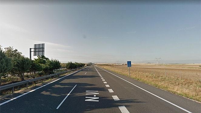 Grave una mujer de 30 años tras sufrir un accidente de tráfico en Ataquines