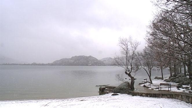 Sanabria, Zamora, registra la temperatura más baja del país con 9,6 grados bajo cero