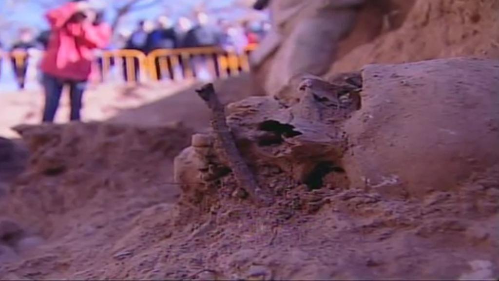 Priaranza del BIerzo. Primeras exhumaciones