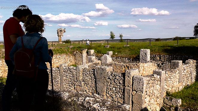 Visita a la ciudad romana de Clunia, Burgos.