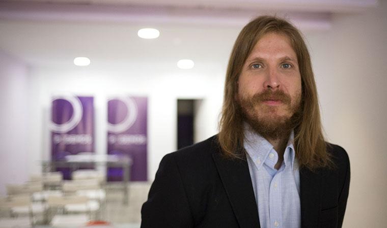Entrevista a Pablo Fernández, secretario general de Podemos en Castilla y León